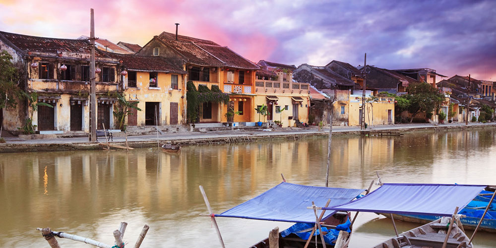 Riverside Houses, Hoi An, Vietnam