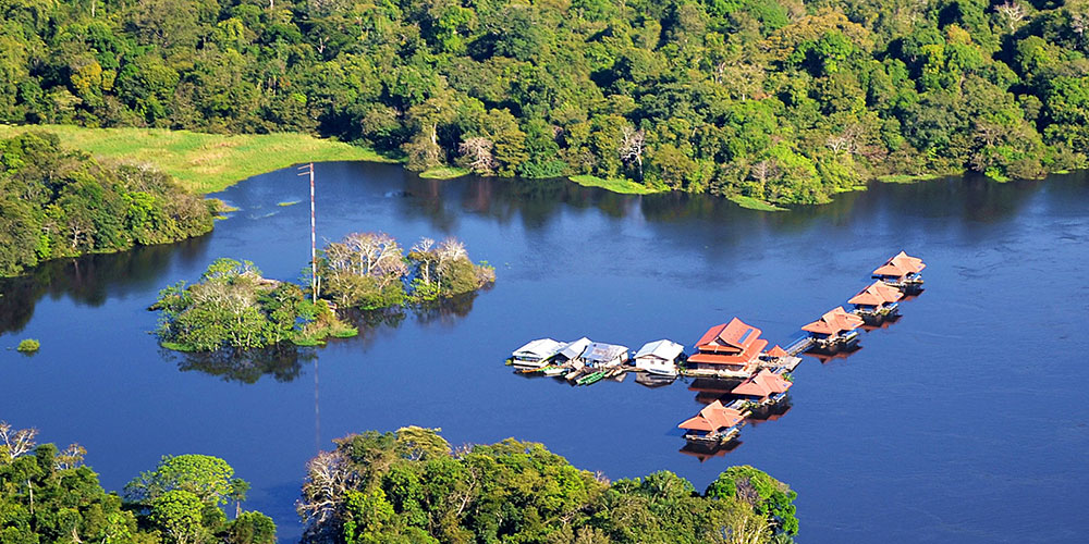 Uacari Lodge, Amazon Jungle, Brazil