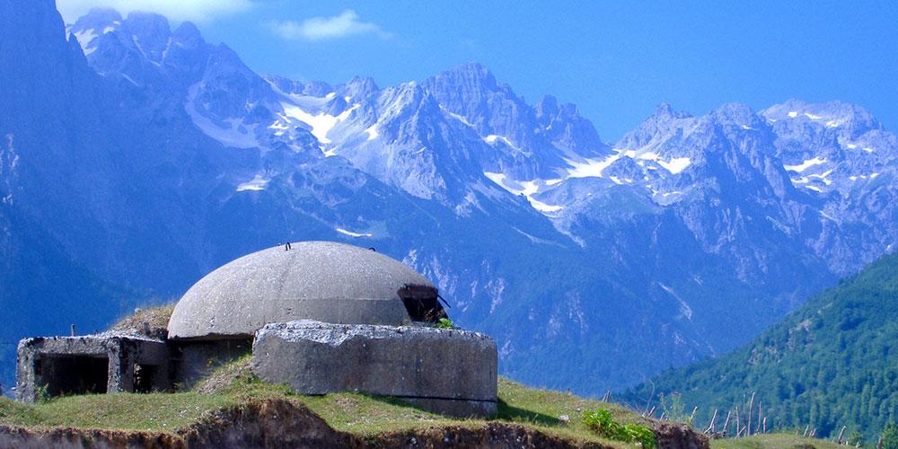 Valbona Bunker, Albania
