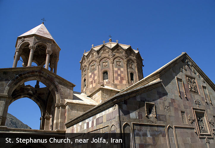 St. Stephanus Church, near Jolfa, Iran